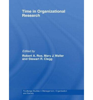 Descargar libros completos gratis Time in Organizational Research (Literatura española) ePub 0415540755