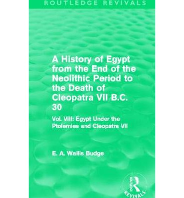 the history of cleopatra vii The life of cleopatra, queen of egypt unless otherwise noted, these books are for sale at amazoncomyour purchase through these links will result in a commission for the owner of the.
