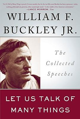 Let Us Talk of Many Things : The Collected Speeches