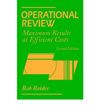 Operational Review: Performing for Results