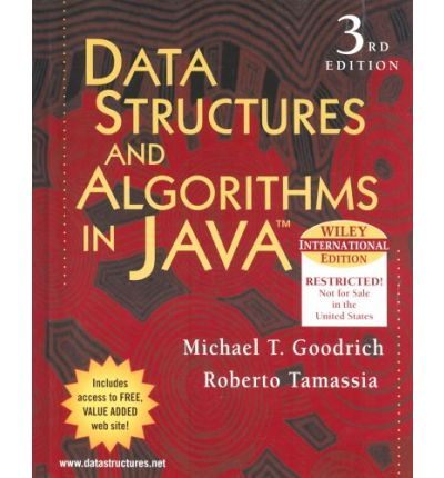 data structures and algorithms in java pdf goodrich