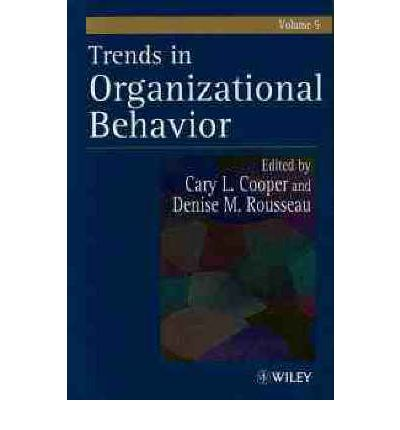 modern trends in organizational behaviour The need for and meaning of positive organizational behavior journal of organizational behavior, 23: hope: a new positive strength for human resource development.