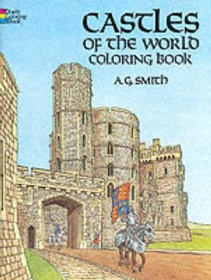 Castles of the World Colouring Book