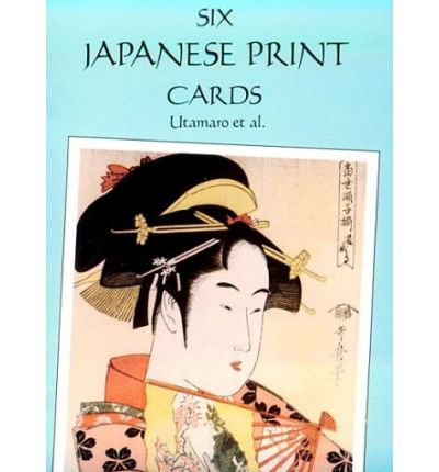 Six Japanese Print Postcards