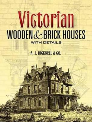 Victorian Wooden and Brick Houses with Details
