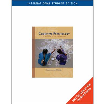 cognitive psychology in and out of the laboratory pdf