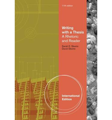 Writing with a thesis book
