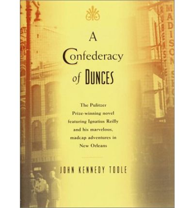 a confederacy of dunces by john First edition of the author's pulitzer prize-winning masterpiece octavo, original  cloth signed by walker percy on the title page, who.