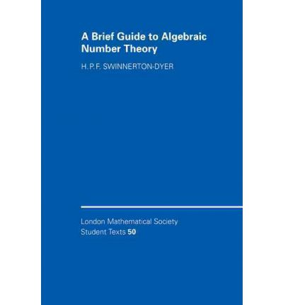 A Brief Guide to Algebraic Number Theory
