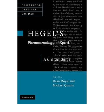critical essay hegels new phenomenology spirit Please note that the new venue seats 6 people comfortably and 8 people snuggly  g w f hegel's phenomenology of spirit  hegel saw himself as .