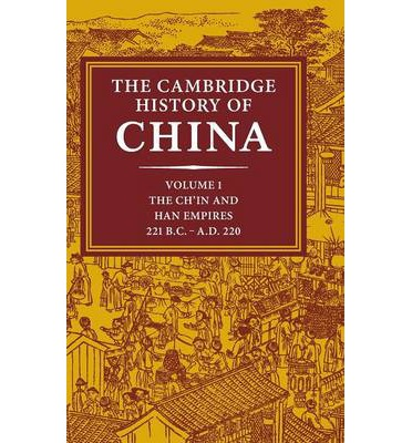 Image result for The Cambridge History of China: volume I loewe