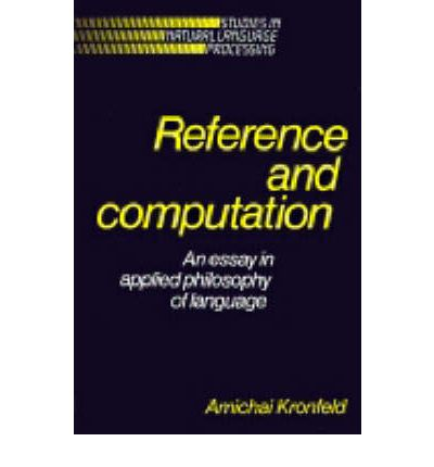 reference and computation an essay in applied philosophy of language