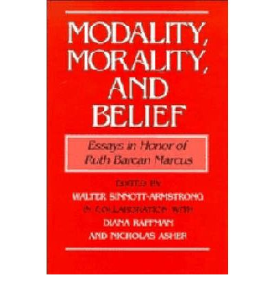 barcan essay honor in marcus ruth Encuentra modality, morality and belief: essays in honor of ruth barcan marcus de walter sinnott-armstrong, diana raffman, nicholas asher (isbn: 9780521440820) en amazon.
