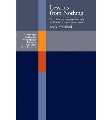 Lessons from Nothing