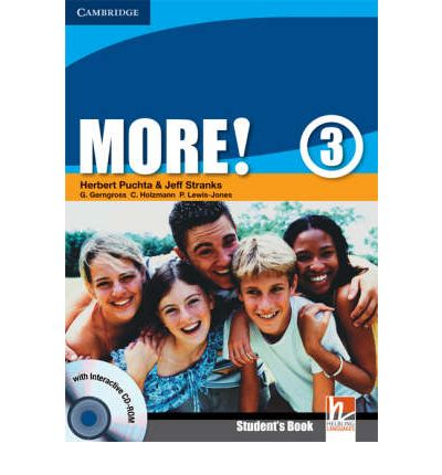 More! Level 3 Student's Book with Interactive CD-ROM: Level 3