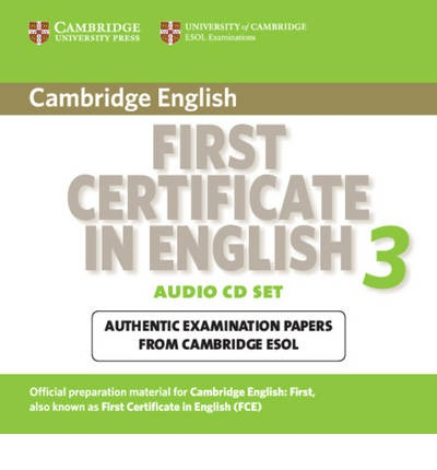 Cambridge First Certificate In English 3 For Updated Exam Audio CDs 2 PDF Download 28 12 2016