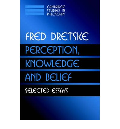 Fred Dretske's Essay Examples