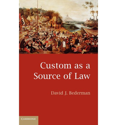 Custom in jurisprudence