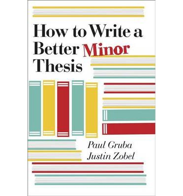 minor thesis The minor thesis is complementary to the qualifying exam in the course of mathematical research, students will inevitably encounter areas in which they have gaps of knowledge the minor thesis is an exercise in confronting those gaps to learn what is necessary to understand a specific area of math students choose a.