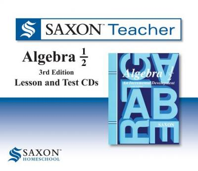 Saxon Algebra 1/2 Teacher CDs
