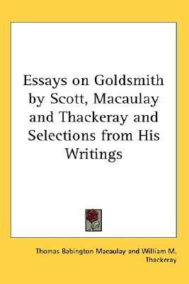 essays thomas macaulay Essay on milton by thomas babington macaulay starting at $550 essay on milton has 13 available editions to buy at alibris.