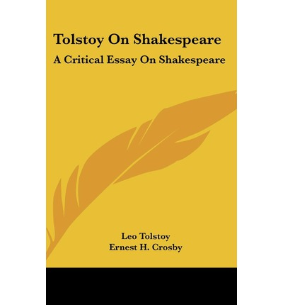 "critical essays on tolstoy Tolstoy's lessons for and for having an active presence of student groups critical of israel ,"" in the november 2013 issue of commentary."