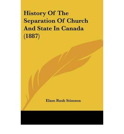 A history of separation of church and state in america