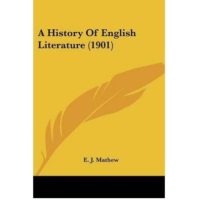 A History of English Literature (1901)