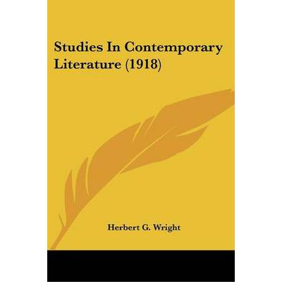 studies in contemporary literature Find out about english language and literature degrees the study of english literature and language will aim to stretch your contemporary literature.
