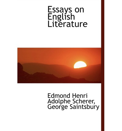 essay for english literature