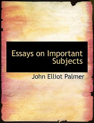 English essays subjects