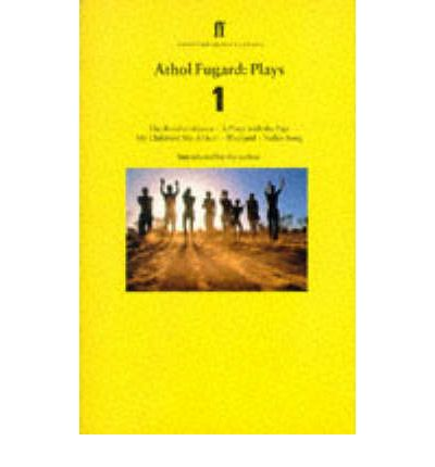 athol fugard valley song Valley song has 79 ratings and 7 reviews tony said: fugard, athol valley song (1996) i'm not sure this is great theater, but it is certainly a.