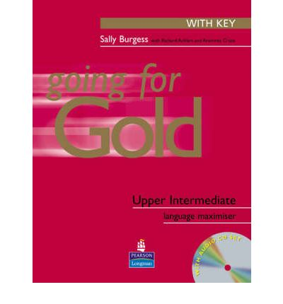 Going for Gold Upper-Intermediate Language Maximiser with Key and CD Pack