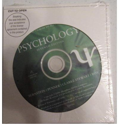 CD-ROM for Bernstein/Penner/Clarke-Stewart/Roy's Psychology, 7th