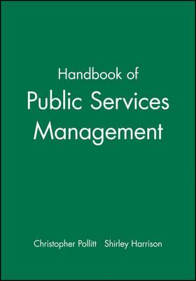 The Handbook of Public Services Management