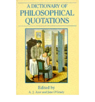 a.j. ayer philosophical essays Ayer was the grote professor of the philosophy of mind and logic at the university college london from 1946 until 1959, and after that the wykeham professor of logic at the university of.