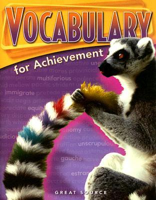 Vocabulary for Achievement Fourth Course