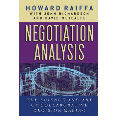 negotiation in management decision making 2018-06-29 while a negotiation on contentious issues can be  employees negotiating a pay raise may become too emotionally involved to accept a compromise with management and take an all or nothing  decision making ability.