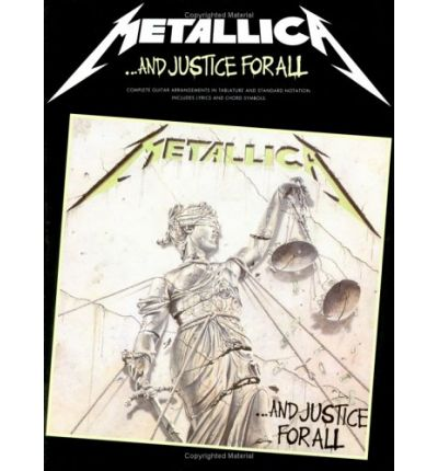 Metallica : ..and Justice for All Guitar Tab Edition