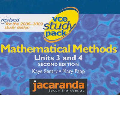 VCE Study Pack Mathmatical Methods : Units 3 and 4