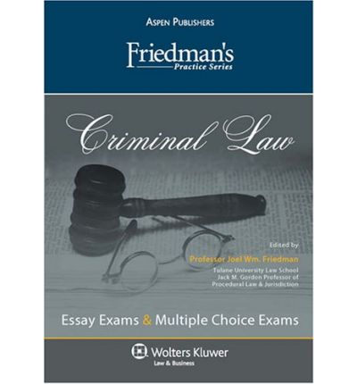 Criminal Procedure: Essay and Multiple-Choice Questions and Answers