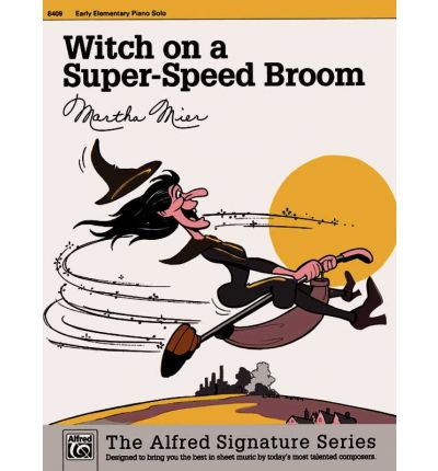 Witch on a Super-Speed Broom : Sheet