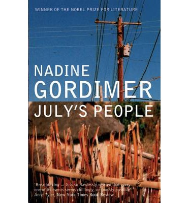 the political turmoil in africa in nadine gordimers julys people