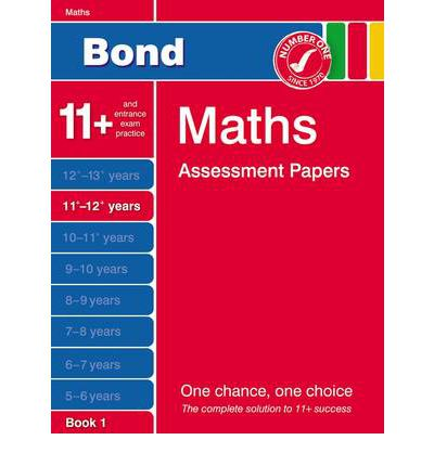 Bond Fifth Papers in Maths 11-12+ Years