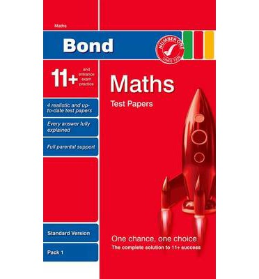Ebooks para iphone Bond 11+ Test Papers Maths Standard Pack 1 by Andrew Baines (Spanish Edition) PDF 9780748784899