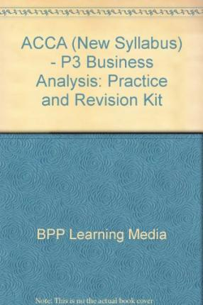 Management accounting bookkeeping best sellers books ebook free ebook downloads for android free acca new syllabus p3 business analysis practice and revision kit epub 0751733709 fandeluxe Choice Image