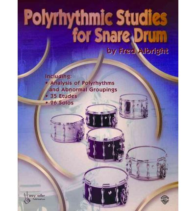 Polyrhythmic Studies for Snare Drums
