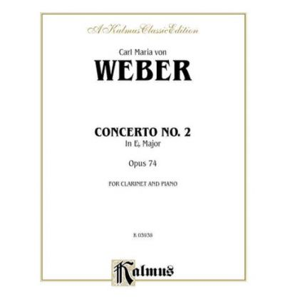 Clarinet Concerto No. 2 in E-Flat Major, Op. 74 (Orch.) : Part(s)
