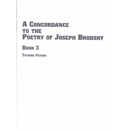 A Concordance to the Poetry of Joseph Brodsky: L-O Book 3