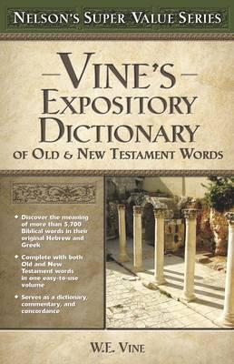 vines expository dictionary of hebrew and greek bible words